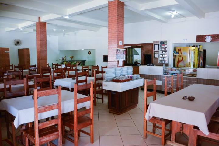 Imagem do ambiente interno do Restaurante